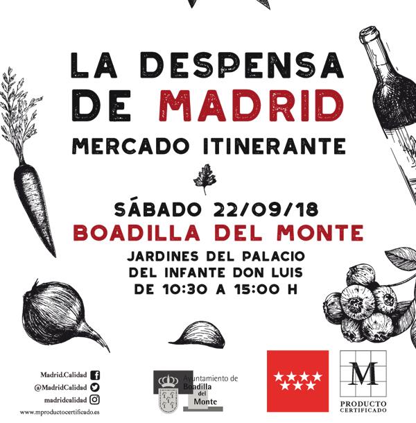 Mercado la Despensa de Madrid