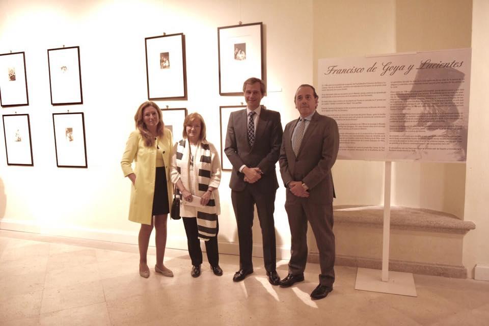 Inauguración de la exposición el 18 de octubre de 2018